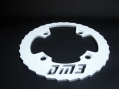 DM3 Bash Guard Alu 32-36 Dents Blanc